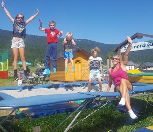 Tramp'Altitude Trampoline Stage Enfants